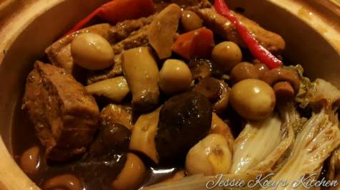 Braised Baby Wong Bok With Assorted Mushrooms, Beancurd & Quail Egg.jpg